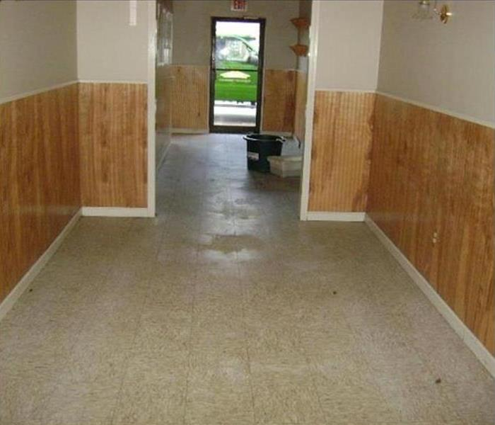 Commercial Water Damage – St. Petersburg Before