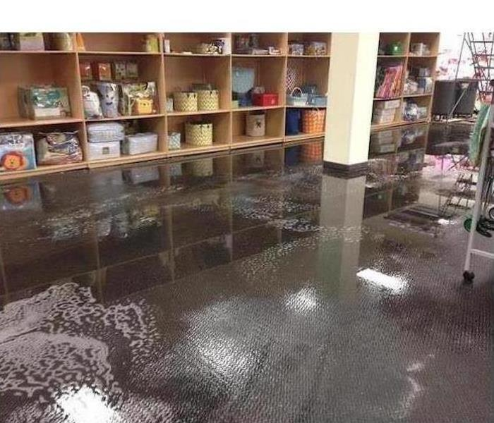 Commercial Water Damage – St Petersburg Before