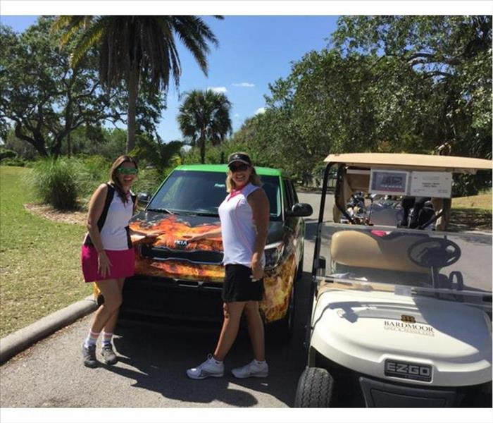 Local Associations and SERVPRO of NE St. Petersburg Participate in the CAI Golf Tournament