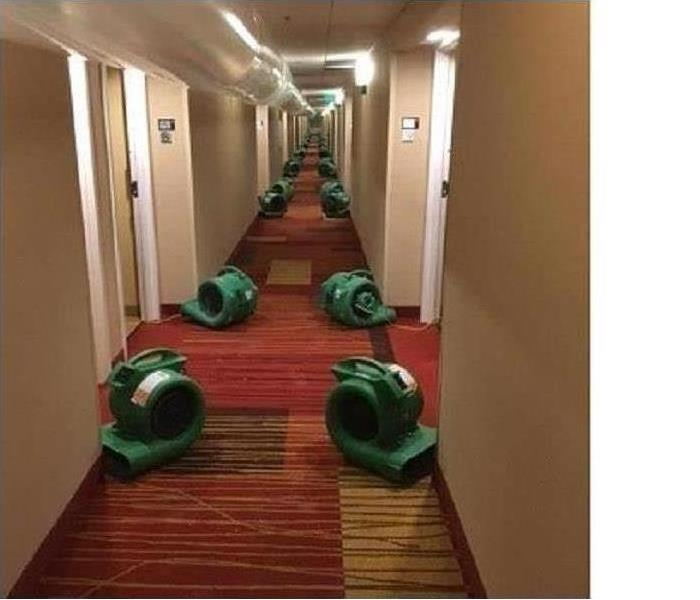 Commercial Water Damage – St. Petersburg Hotel