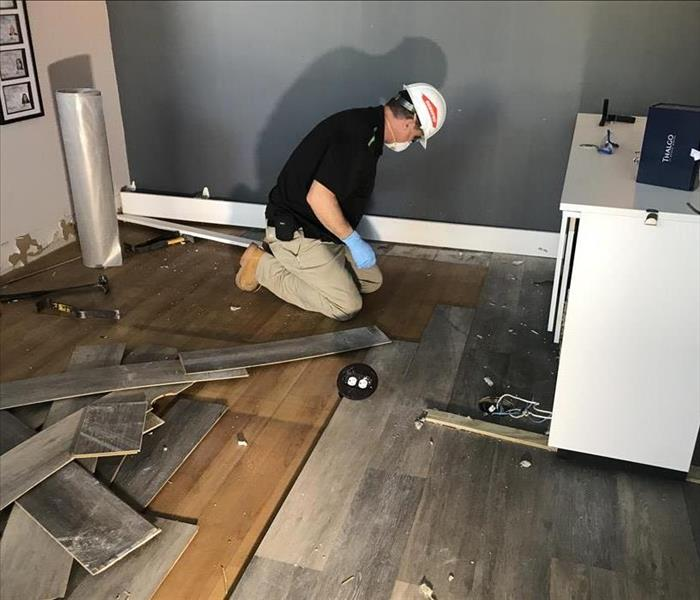 Why SERVPRO St. Petersburg Property Owners Know Why to Call SERVPRO for Water Removal from Wood Flooring